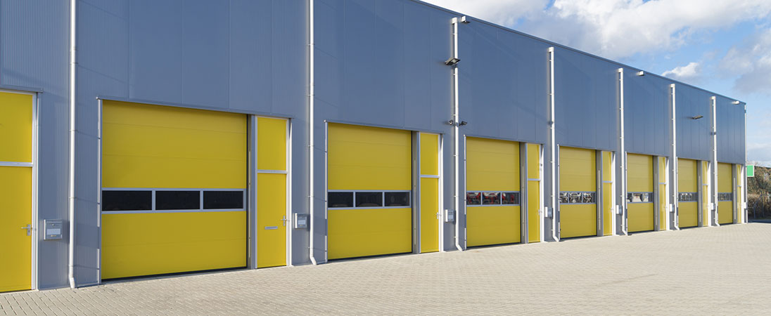The Main Job A Roll Up Door Performs Is Being The Physical Barrier Between  Your Warehouse Or Business And The Outside Environment While Taking Up No  Extra ...