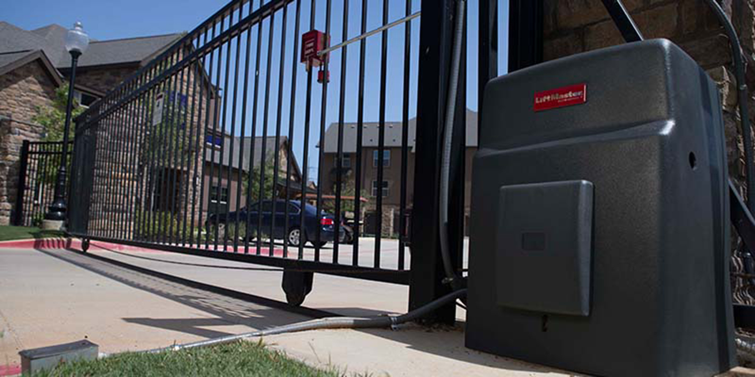 lift master sliding gate access security gates san diego