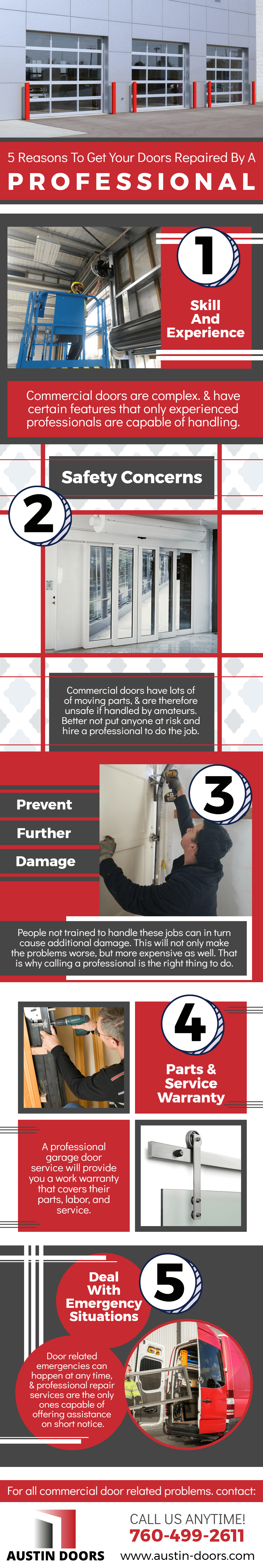 5 Reasons To Get Your Doors Repaired By A Professional